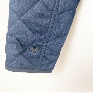 Minimum Jackets & Coats - Minimum Navy Blue Quilted Jacket Size Small